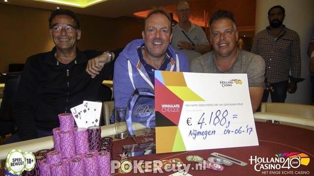 Yven Poortinga, de winnaar in Nijmegen!