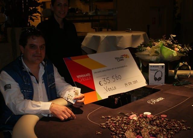 Antoine Vranken de winnaar!