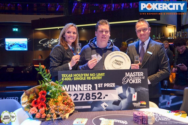 Winnaar €440 Warm-Up: Tonny van Eck!