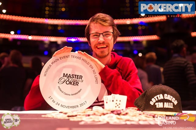 MCOP Main Event winnaar Claas Segebrecht