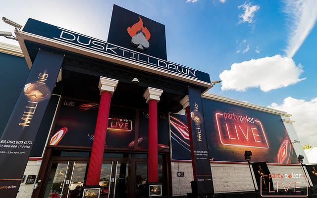 partypoker MILLIONS UK Main Event Dusk Till Dawn casino