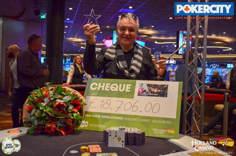 Rolf van Brug wint Valkenburg Poker Series 2018