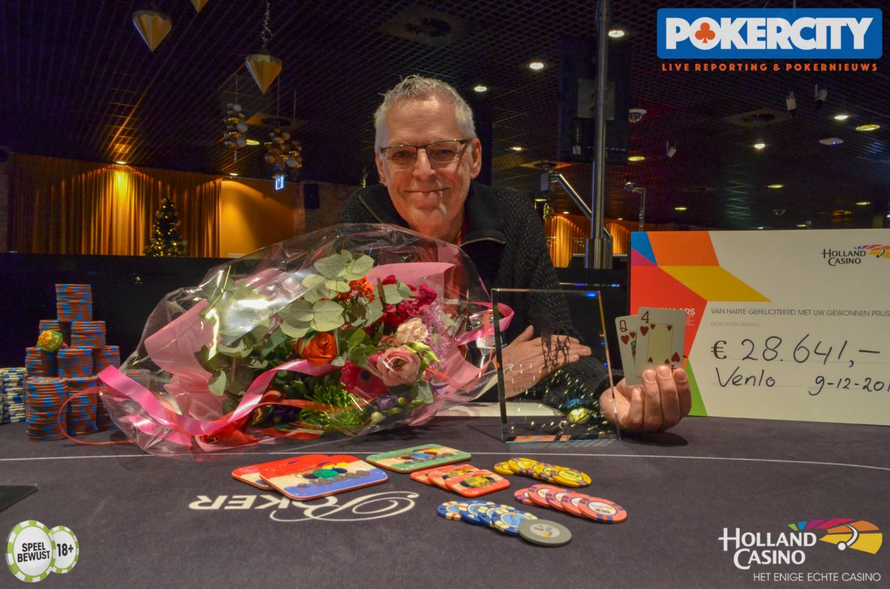 Kees Aerts wint Venlo Poker Series Main Event