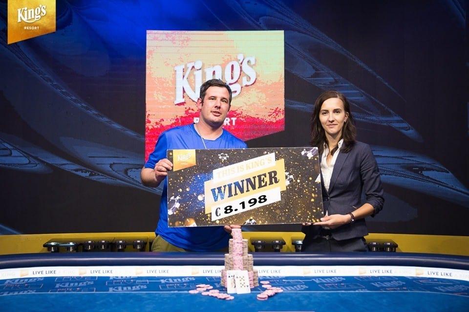 Winnaar Deutsche Poker Tour Main Event