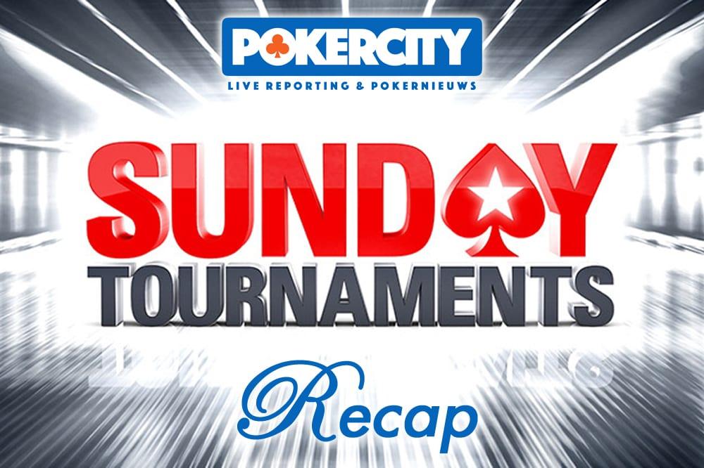 Online Poker Sunday Recap