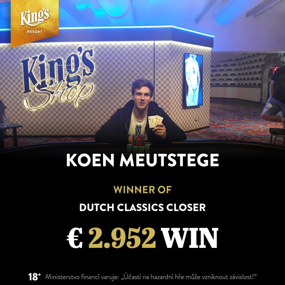 €230 Dutch Classics Warm-up - Koen Meutstege