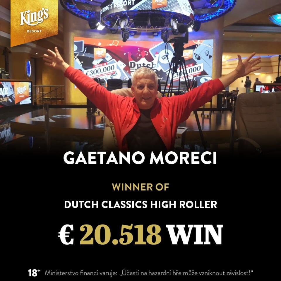 €230 Dutch Classics Warm-up - Gaetano Moreci