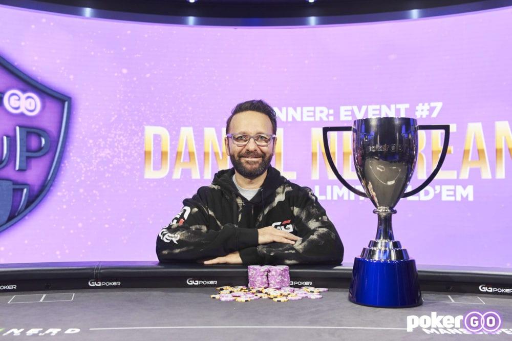 PokerGO Cup - Daniel Negreanu