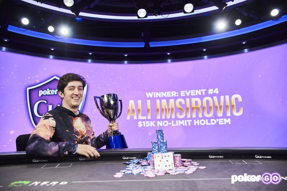 PokerGO Tour - Ali Imsirovic
