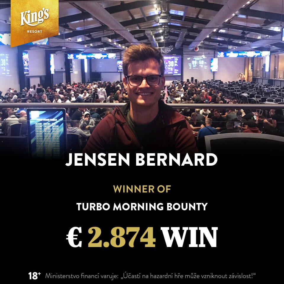 Benelux Classic Grand Final - Bernard Jensen