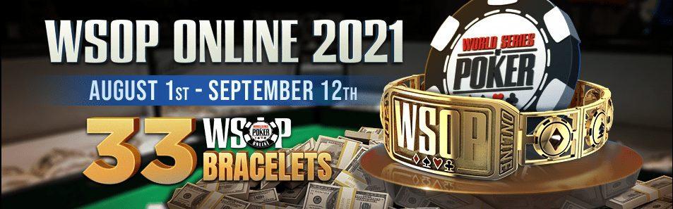 WSOP Online 2021 - GGPoker.be