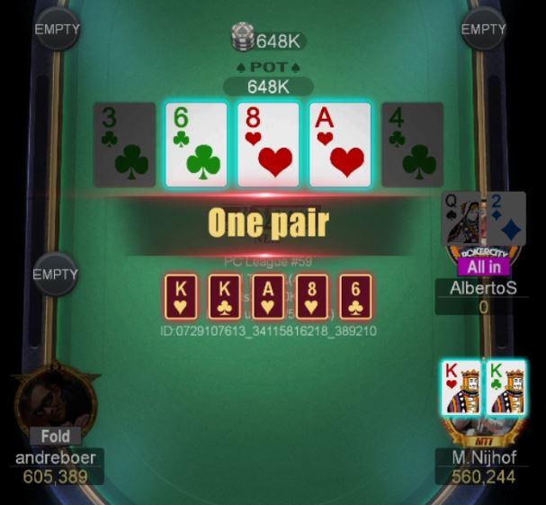 PokerCity League #59 - Alberto Stegeman