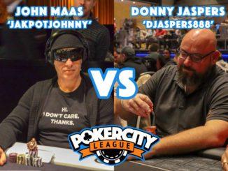 PokerCity League - John Maas vs Donny Jaspers
