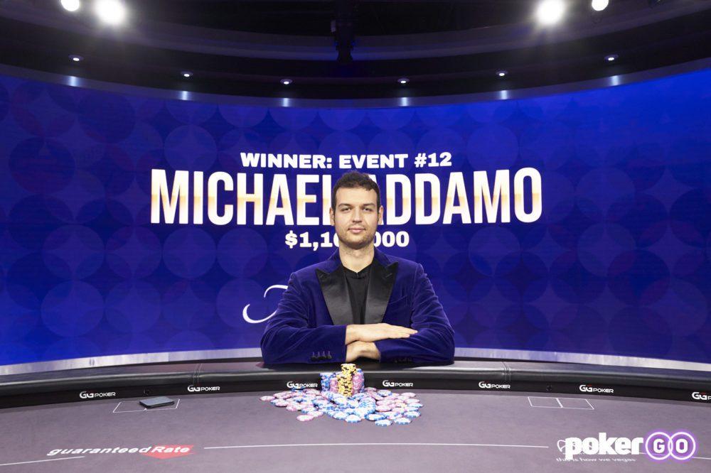 Poker Masters - Purple Jacket winnaar Michael Addamo