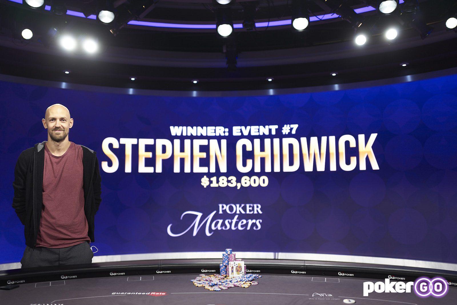 Poker Masters - Stephen Chidwick