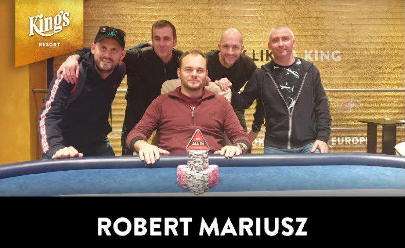 German Poker Days - Robert Mariusz