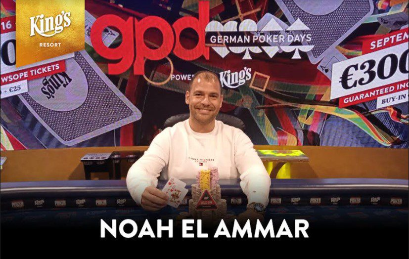 German Poker Days - Noah El Ammar