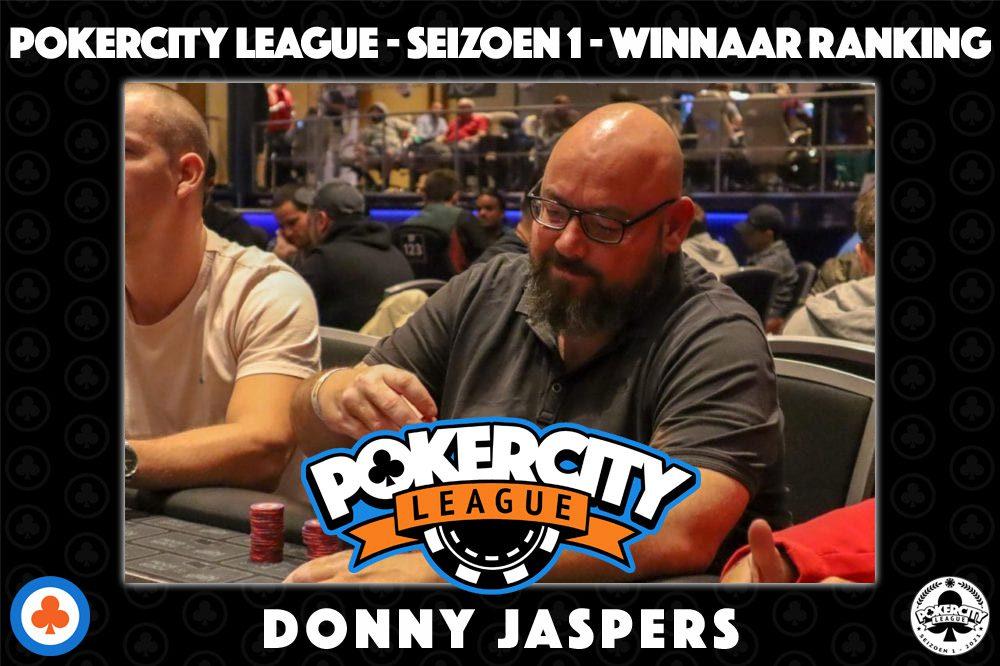 PokerCity League - Seizoen 1 - Donny Jaspers