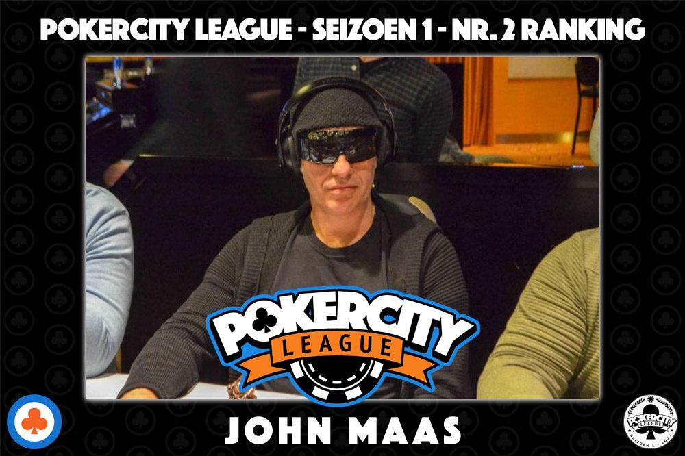 PokerCity League - Seizoen 1 - John Maas