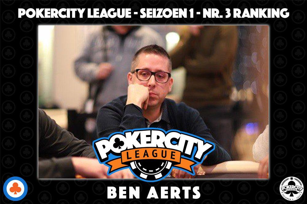PokerCity League - Seizoen 1 - Ben Aerts