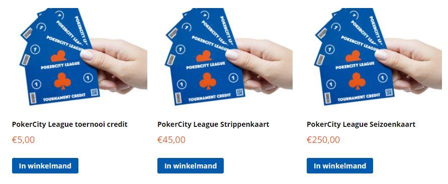 PokerCity League - Tickets
