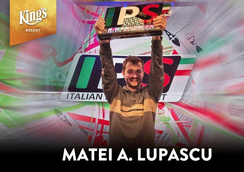 Italian Poker Sport - Matei Lupascu