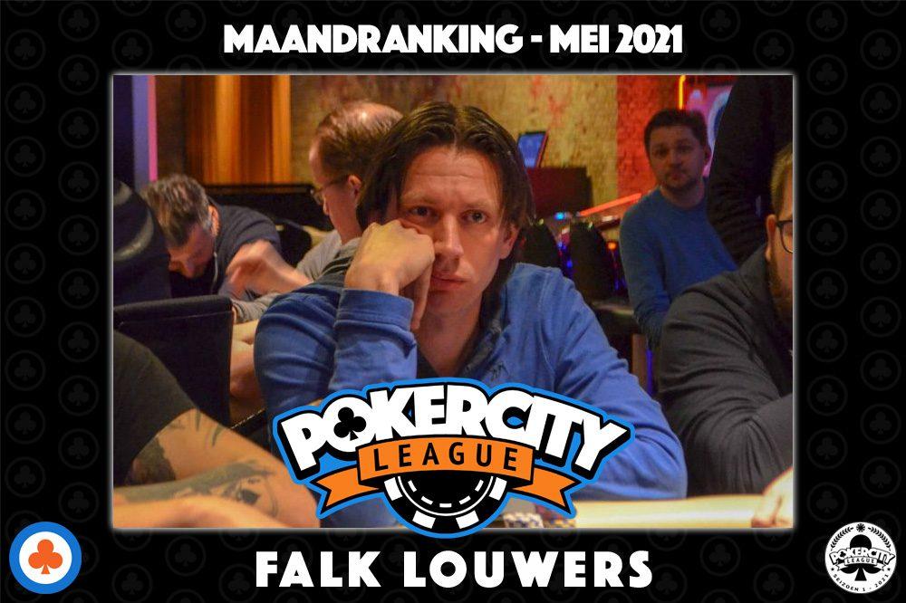 PokerCity League - Maandranking mei 2021 - Falk Louwers