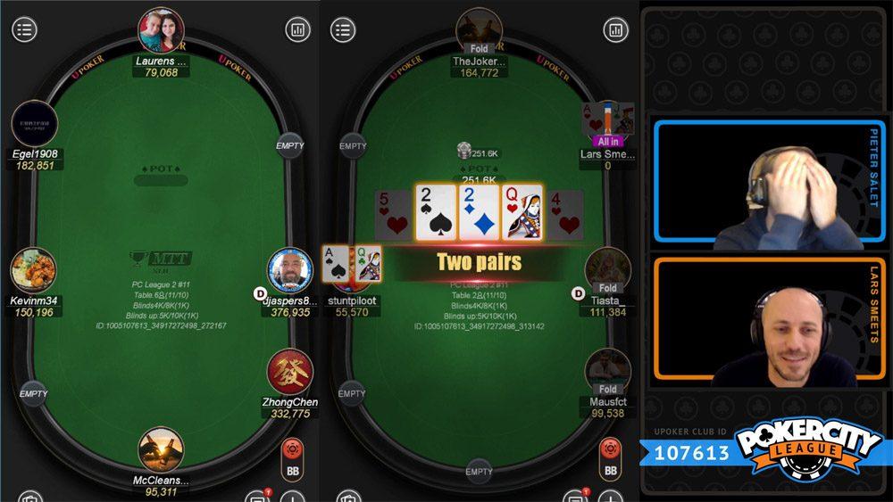PokerCity League - Seizoen 2 - #11 - Bubble
