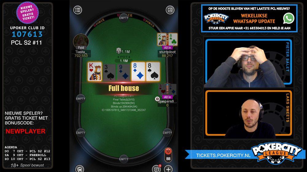 PokerCity League - Seizoen 2 - #11 - Donny Jaspers