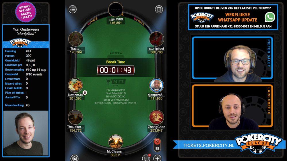 PokerCity League - Seizoen 2 - #11 - FT