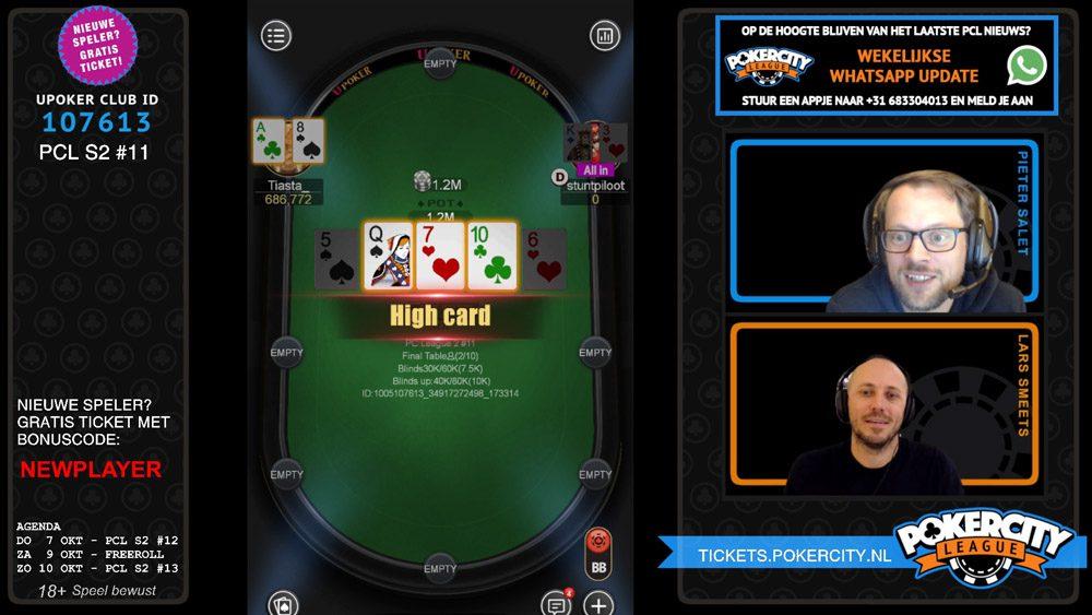 PokerCity League - Seizoen 2 - #11 - Heads-up