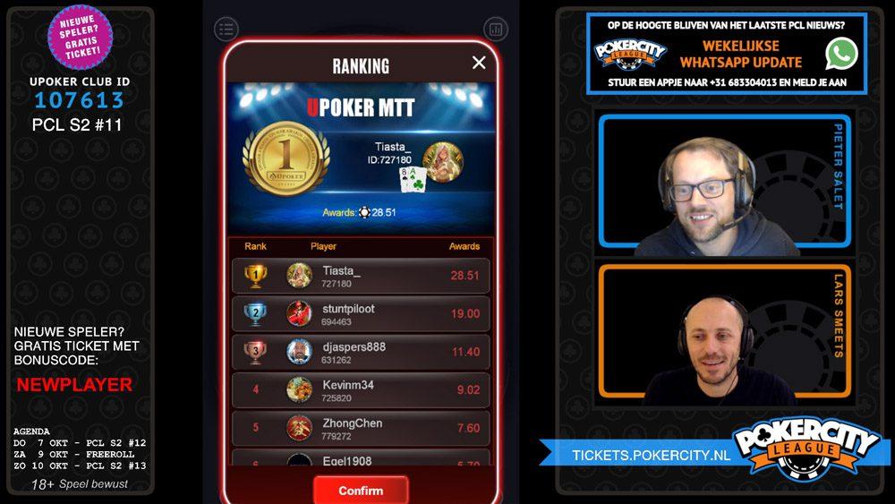 PokerCity League - Seizoen 2 - #11 - Tiara Staal